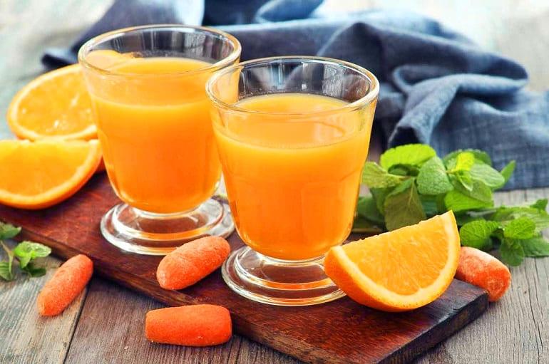 Морковно-апельсиновый микс (сок)