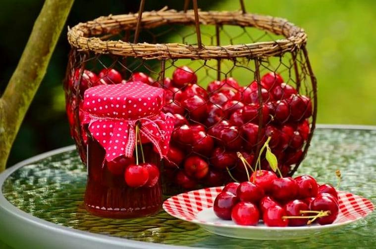 Варенье из вишни без косточек с лимонной кислотой