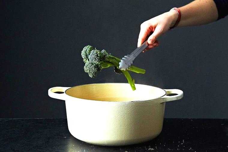 Бланширование овощей в кулинарии