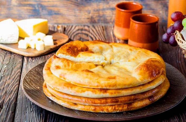 Хачапури по-имеретински на сковороде