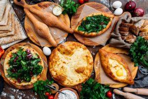Грузинский пирог с сыром